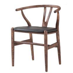 Presidenza di legno del braccio di disegno del ristorante della sede classica durevole del cuoio