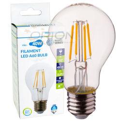 Lâmpada LED 4W 6W iluminação LED de 8 W E27 Luz LED B22 lâmpada de filamento de uma intensidade de luz LED60 Lâmpada LED