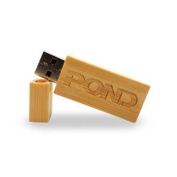 Logo personnalisé en bois USB 2.0 Lecteur Flash USB pendrive 8Go et 16 Go et 32 Go de disque U Memory Stick™ (clef cadeaux de mariage, plus de10PCS Logo gratuit)