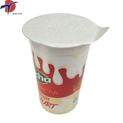 열 - PP 컵 밀봉을%s 밀봉 알루미늄 호일 뚜껑