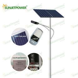 실외 고품질 진코 소알르 패널 60W 솔라 LED 스트리트 라이트 MPPT 컨트롤러 TUV BV SGS Integrated Factory 포함 모든 것이 하나의 태양광으로 되어 있습니다