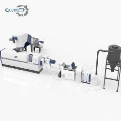 Film PE PP sac de riz en Nylon de granulation Granulators Machine pour déchets de plastique