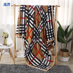 Мягкие крышка для кровати диван теплой фланели флис офсетного полотна