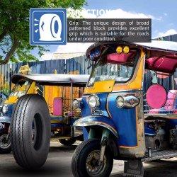 20 ans ISO9001 usine Moto tout terrain professionnel/moteurs Tubeless Scooter tube/ATV MRF/le pneu en caoutchouc pour le Nigéria de l'Égypte Bajaj 4.00-8 Motorcy ds137