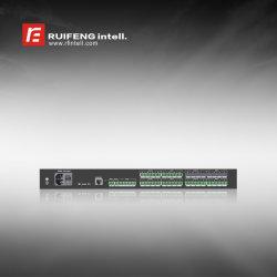 Dp 1212aec를 가진 직업적인 디지털 오디오 처리기 Dante Inteface 16in 16 밖으로 Aec 1 USB