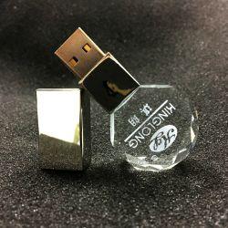 Clé USB en cristal de gros cristaux OEM Pendrives Memory Sticks USB