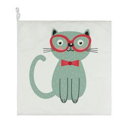 Pesci Microfiber grazioso Cina del gatto Regalo-nel tovagliolo decorativo stabilito del bambino della cucina