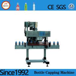 自動線形サーボパッキングキャッピング機械のためのピストンによって圧力をかけられる液体のプラスチックびんオイルのガロン満ちる分類のキャッピング機械
