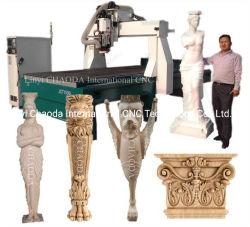 4 оси из пеноматериала 3D-вращающийся машины с ЧПУ для производства статуя Будды,, рис.