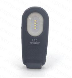 La nueva linterna LED recargable con clip magnético