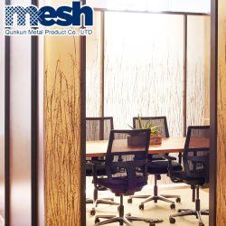 Métal trempé de sécurité en verre feuilleté Mesh pour diviseur de la salle