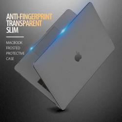 "MacBook 새로운 직업적인 13닢의 "" 방어적인 케이스에 의하여 서리로 덥는 회색 투명한"