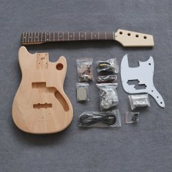 """동일한 모양 미완성 30의 """" 야생마 베이스 기타 장비를 요구하십시오"""