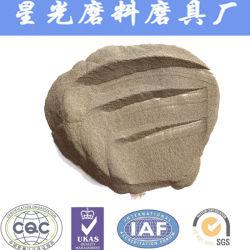 Les matières premières de grains réfractaires 95 % Al2O3 Brown corindon d'alumine fondue