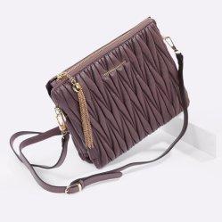 Factory 2017 Hochwertige Ladies Bag aus PU-Leder Modische Handtaschen für Frauen Empaistic Damentasche