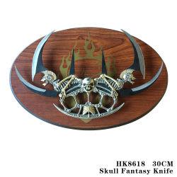 Il metallo della lama di fantasia della lama del mestiere della lama di fantasia del cranio perfezionamento 30cm