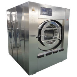 호텔과 병원을%s 자동적인 상업 및 산업 세탁물 세척 갈퀴 기계 25kgs 30kgs 50kgs 100kgs