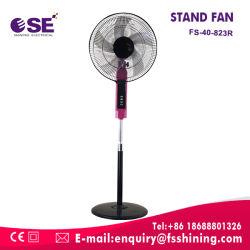 Ajustar la altura de 4 velocidades del ventilador de pedestal de 16 pulgadas con mando a distancia (FS-40-823R)
