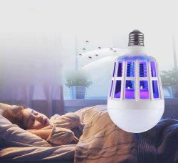 2 в 1 15Вт Светодиодные лампы комара Killer электрической лампы Trap комара Killer лампа для использования вне помещений кемпинг ночного сна лампы