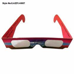 Специализированные печатные бумаги картонных очках 3D