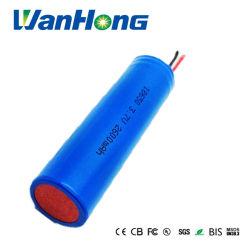 18650 3,7 V 2600mAh rechargeable Li-ion Batterie au lithium pour Miner's Lamp