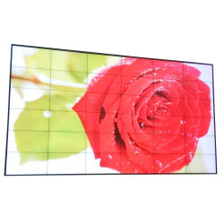 Visor LCD de moldura estreita a Emenda de tela na parede de vídeo