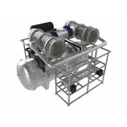 100m2 진공 냉동 드라이어 식품 가공 산업용 동결건조기 리동결건조기