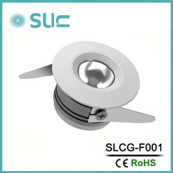 SCHRANK-Schaukasten-Scheinwerfer der Aluminiumlegierung-LED Innen