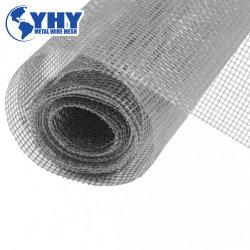 灰色の黒く柔らかいガラス繊維のWindowsのネットの布、ガラス繊維の昆虫スクリーン