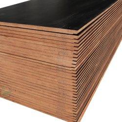 Cimc黒いフィルムは販売のための28mmの容器のフロアーリングの合板に直面した