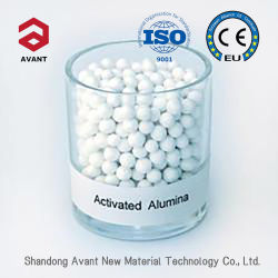 Le soufre organique transporteur catalyseurs d'hydrogénation 3-5mm Alumine activée