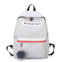 Il sacchetto resistente all'uso di svago degli allievi mette in mostra lo zaino
