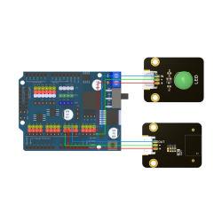 Módulo de Interruptor do Sensor de ângulo de inclinação para Arduino