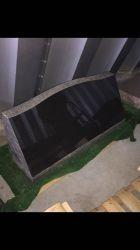 山西黒三角墓マーカー、黒玄武岩マーカー
