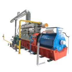 Tipo de salida trifásica de CA de la energía verde refrigerado por agua Syngas generador de energía