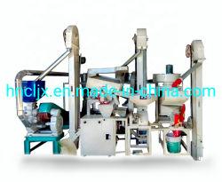 Automatische Minireismühle-Maschinen-/Reis-Getreidemühle/Paddy-Stampfer-aufbereitende Zeile