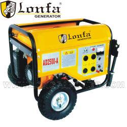 6.5HP beweglicher 2.5kw Kobal Benzin-Generator mit Griff und Rädern