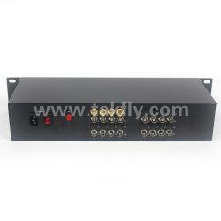 16-канальный видео 1080P цифрового преобразователя волокна видео передача звука