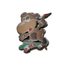 Usine de placage en alliage de zinc métal d'un insigne de l'épinglette cadeau de promotion de l'artisanat