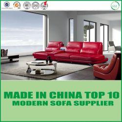 Jeu moderne étendu de sofa de meubles en cuir fonctionnels de salle de séjour