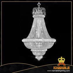 Verlichting van de Kroonluchter van het Kristal van het Project van het hotel de Naar maat gemaakte (Goud KA6309)