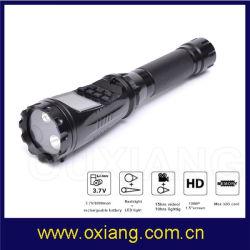 der Bildschirmanzeige-1.5inch Kamera Fackel-Kamera-der Taschenlampen-DVR für Polizei-Sicherheits-Patrouille