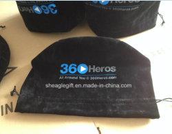 Черный круглый нижней части двойного бархата камеры мешок для упаковки