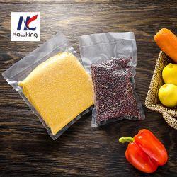 Chinesische Lieferant Nylon / PE Kunststoff geprägte Vakuum-Sealer Lagerung Lebensmittel Verpackung Tasche