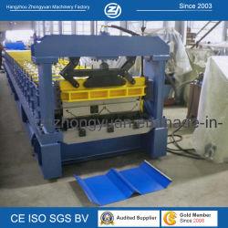 Постоянный шов стопорное Self-Lock кровельные панели роликогибочная машина с ISO/CE/SGS/Soncap