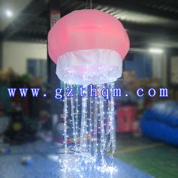La publicidad de 2m de luz LED inflables medusas Medusas globo