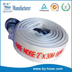 Численность высокого давления гибкой один спасательный жилет белый огонь из ПВХ шланг полотенного транспортера