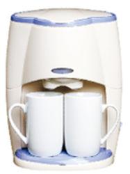 Portable Anti-Drip Doulbe Tasses Espresso Café 2 tasses
