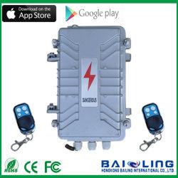 Новые поступления GSM Wireless Intelligent Электрические ограждения системы охранной сигнализации в алюминиевом корпусе для использования вне помещений системы охранной сигнализации