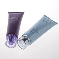Kosmetische PE van de Samendrukking van Dia35mm 100ml Plastic Buis voor Kosmetische Verpakking